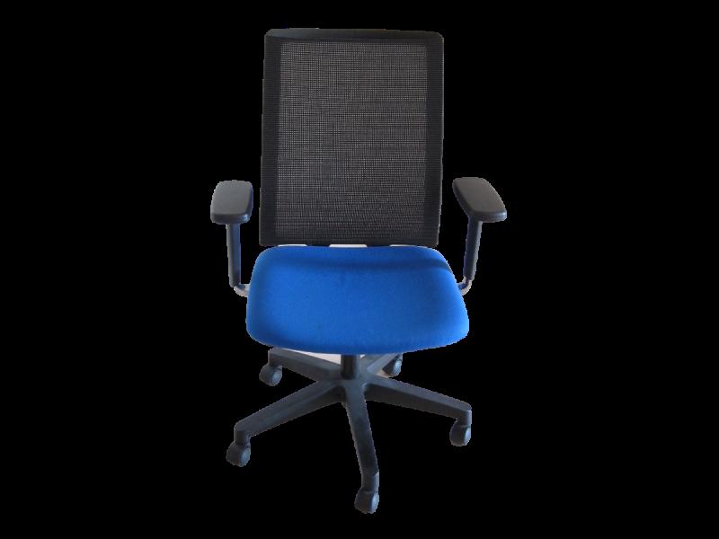 fauteuil forma 5 sentis bleu adopte un bureau. Black Bedroom Furniture Sets. Home Design Ideas