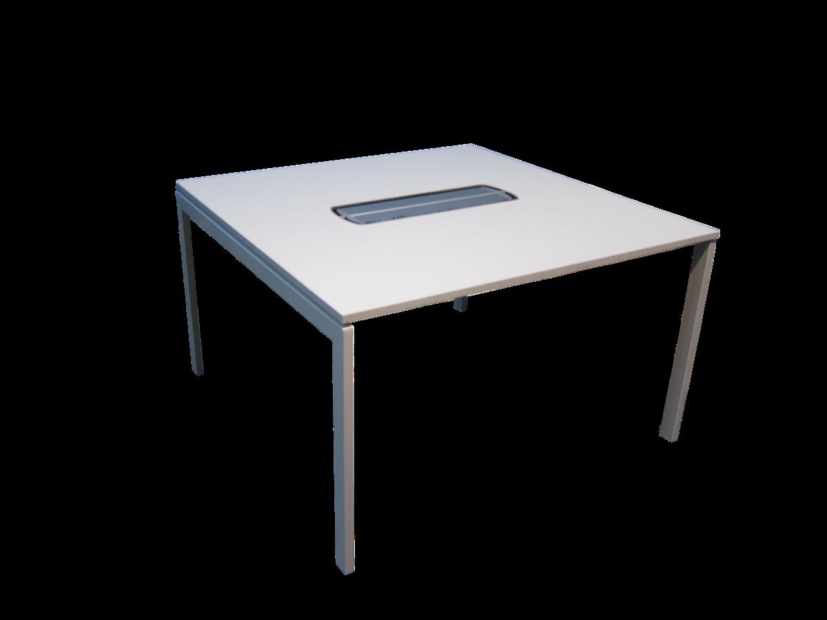 table de r union carr e kinnarps adopte un bureau. Black Bedroom Furniture Sets. Home Design Ideas