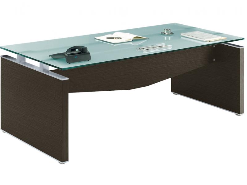 bureau verre et bois neuf adopte un bureau. Black Bedroom Furniture Sets. Home Design Ideas