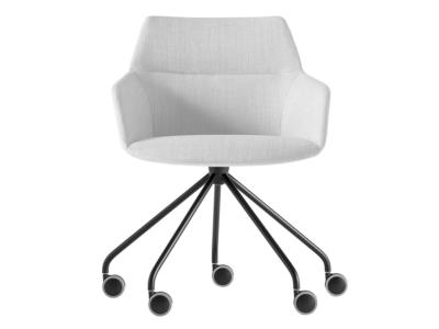 Fauteuil design blanc DUNAS XS