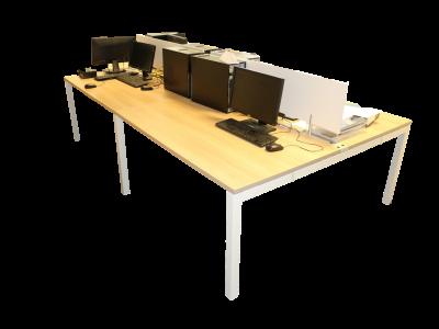 bureau bench 4 postes