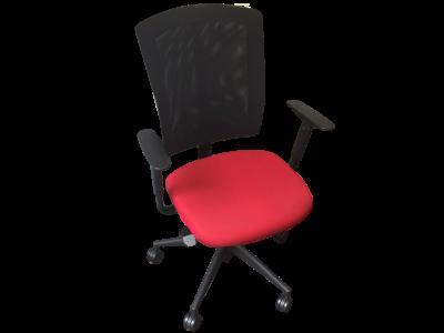 fauteuil de bureau rouge