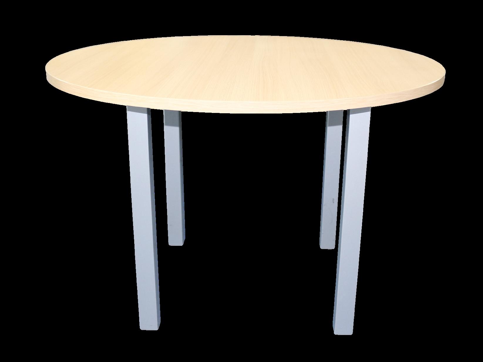 Table de conf rence ronde 4 personnes adopte un bureau for Mobilier bureau 4 personnes