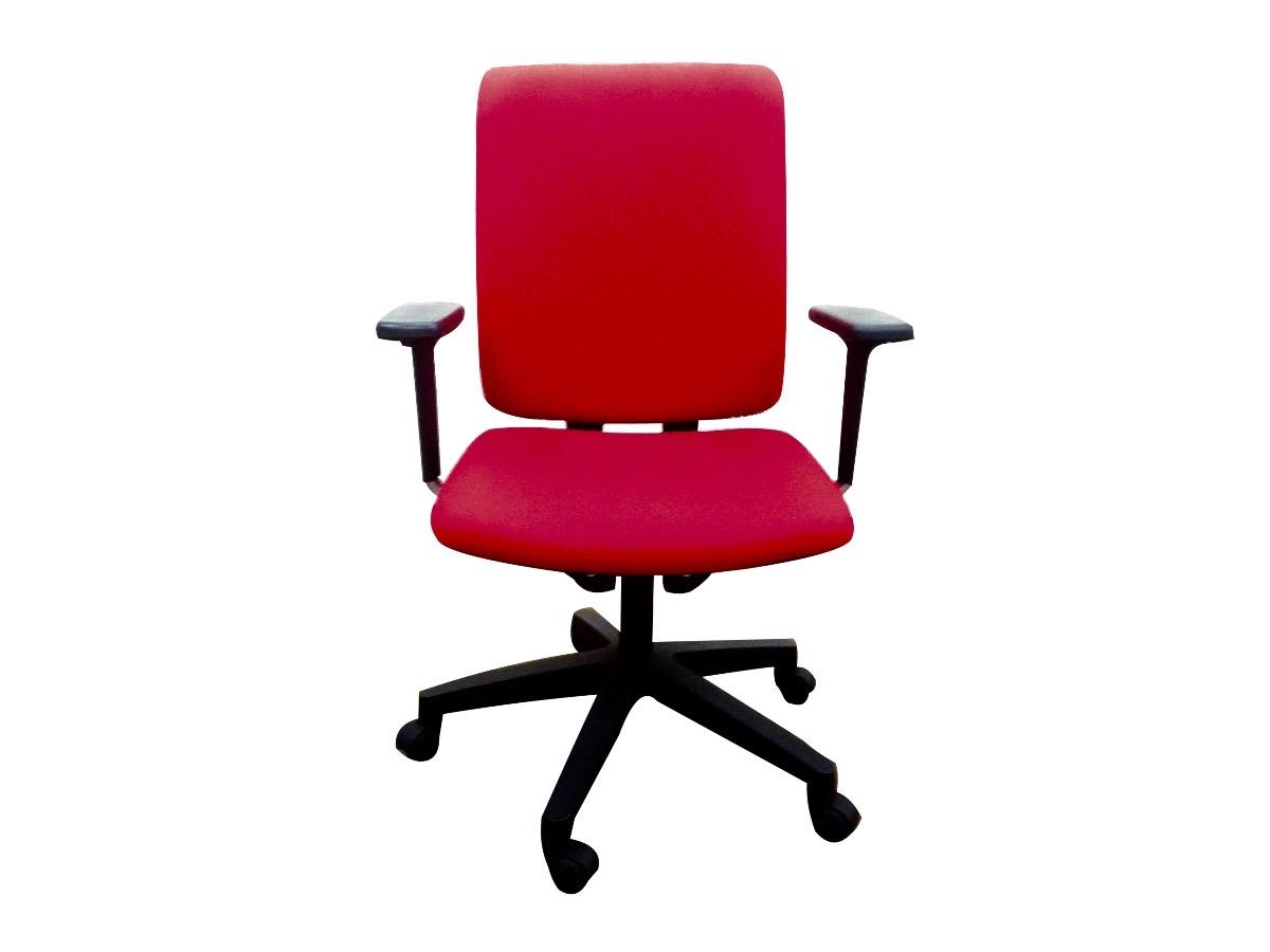 Fauteuil forma 5 sentis rouge adopte un bureau - Fauteuil bureau occasion ...