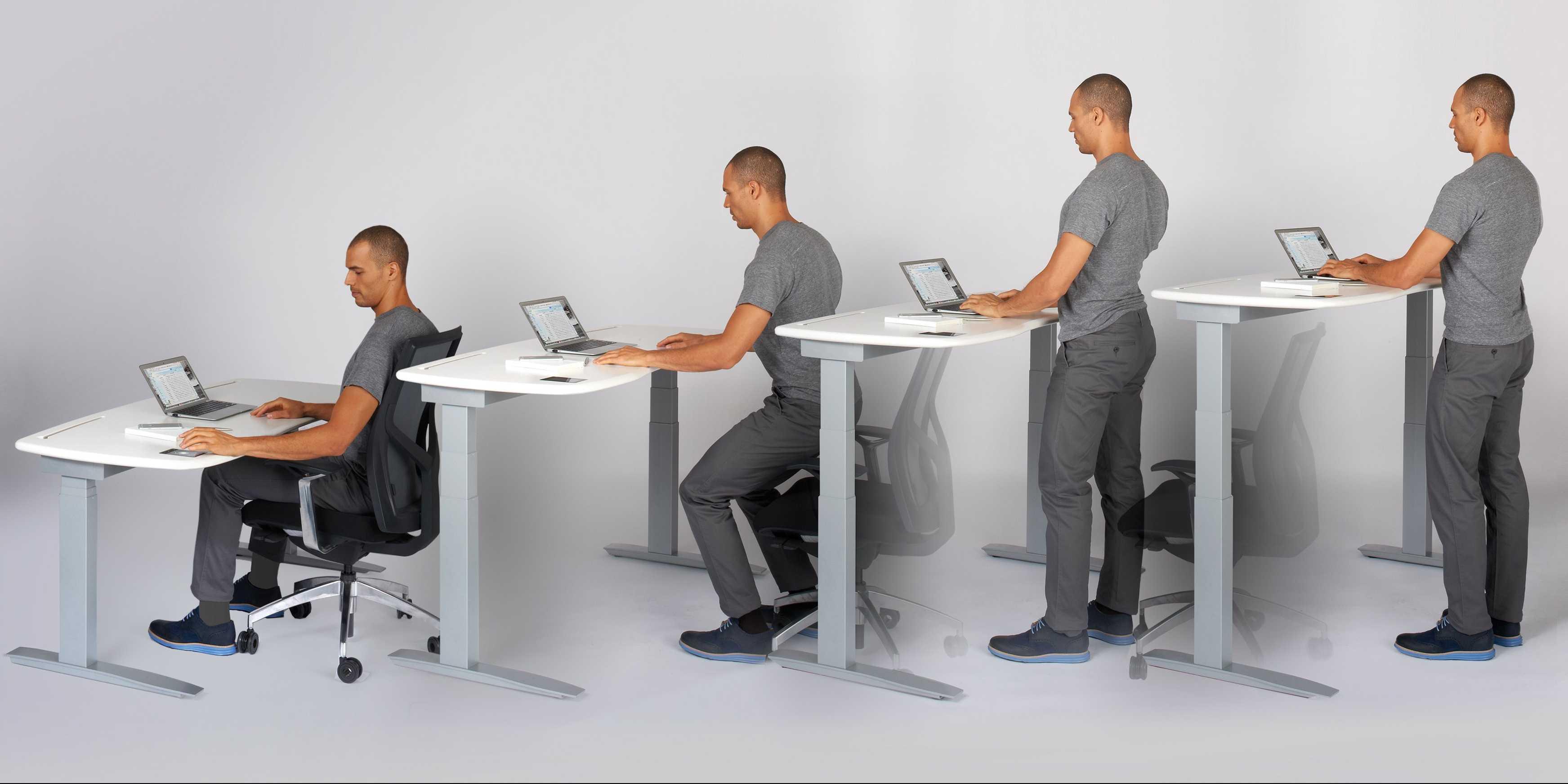 bureau assis debout le guide pour bien choisir adopte. Black Bedroom Furniture Sets. Home Design Ideas