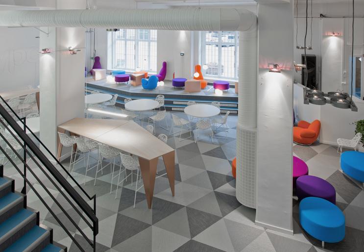 Bureaux d entreprises les 7 tendances design de 2015 - Skype bureau ...