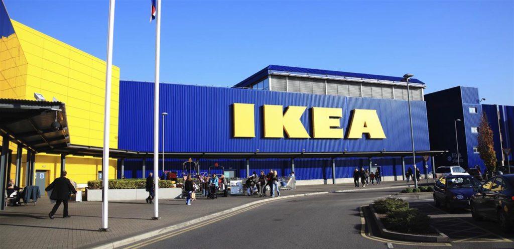 Ikea bureau magasin