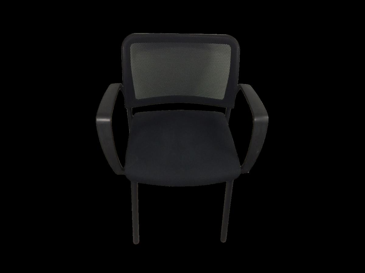 chaise de reunion noire avec accoudoirs occasion. Black Bedroom Furniture Sets. Home Design Ideas