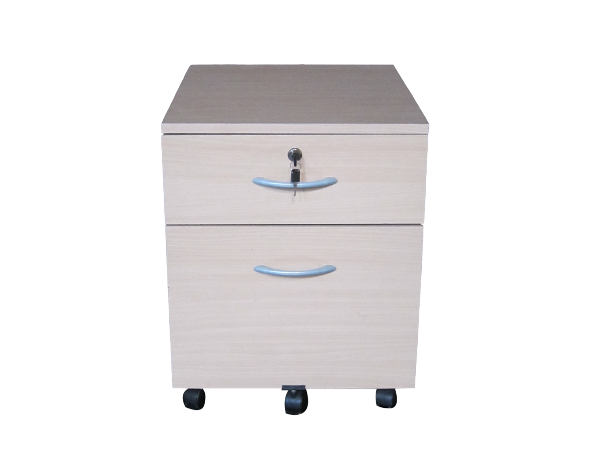 caisson porte dossiers bois clair adopte un bureau. Black Bedroom Furniture Sets. Home Design Ideas