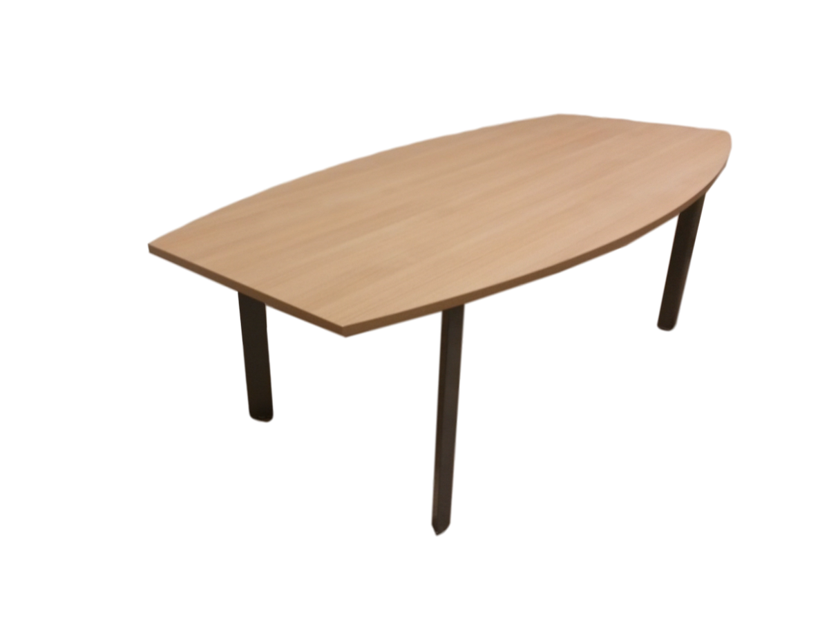 Table de reunion bois clair adopte un bureau for Table bureau bois