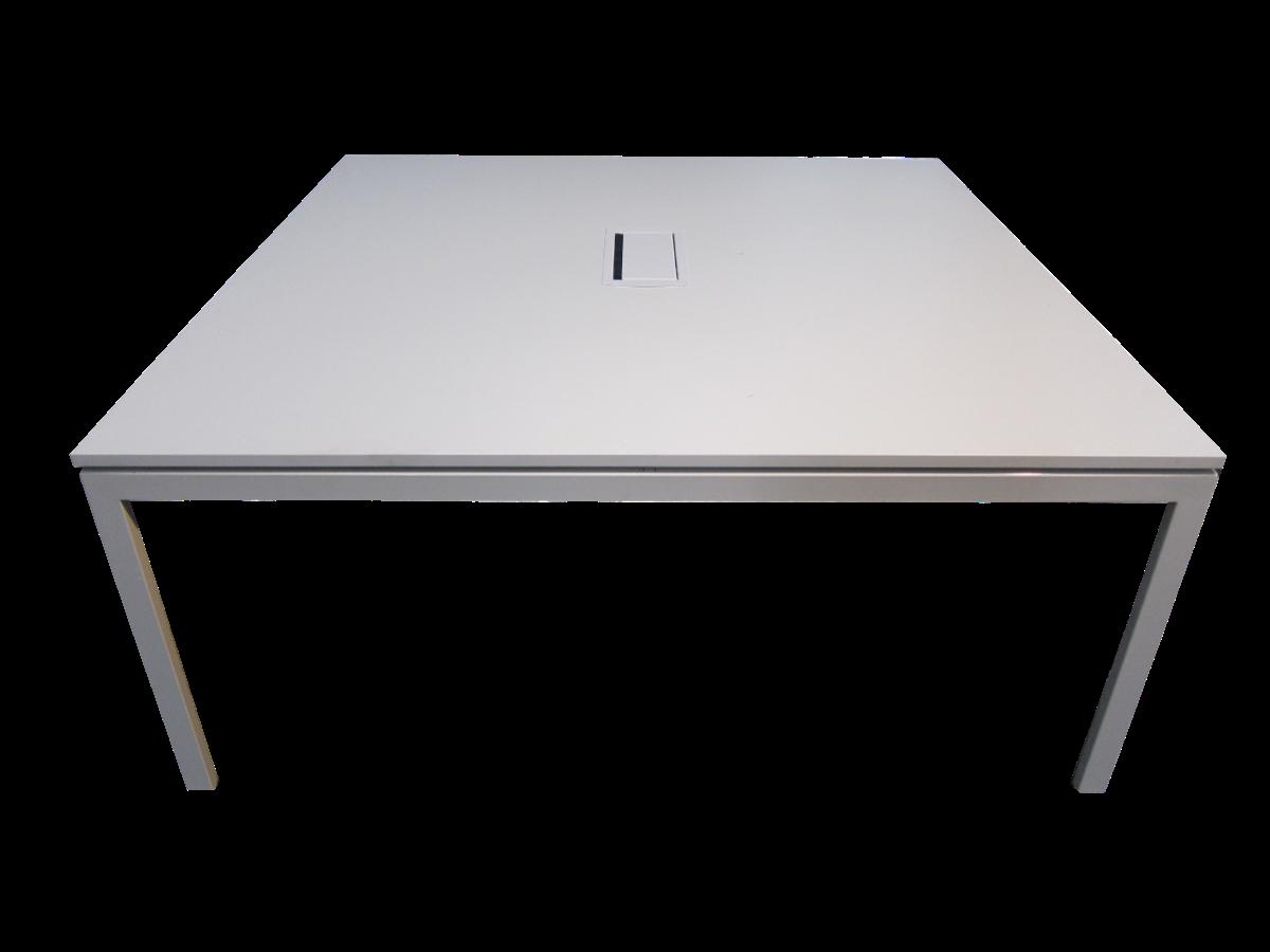 table de r union blanche kinnarps adopte un bureau. Black Bedroom Furniture Sets. Home Design Ideas