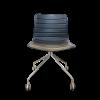 chaise design noire Arper Catifa 46 0275 d'occasion