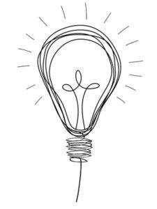 ampoule idée