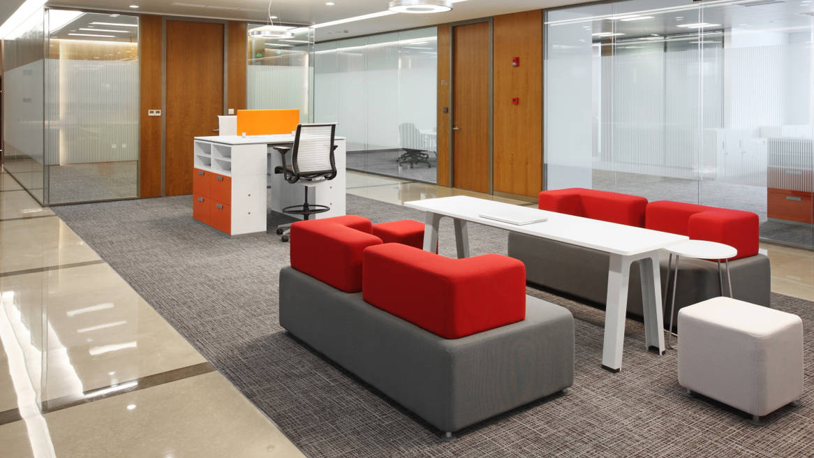 Pouf Steelcase B-free - Adopte Un Bureau