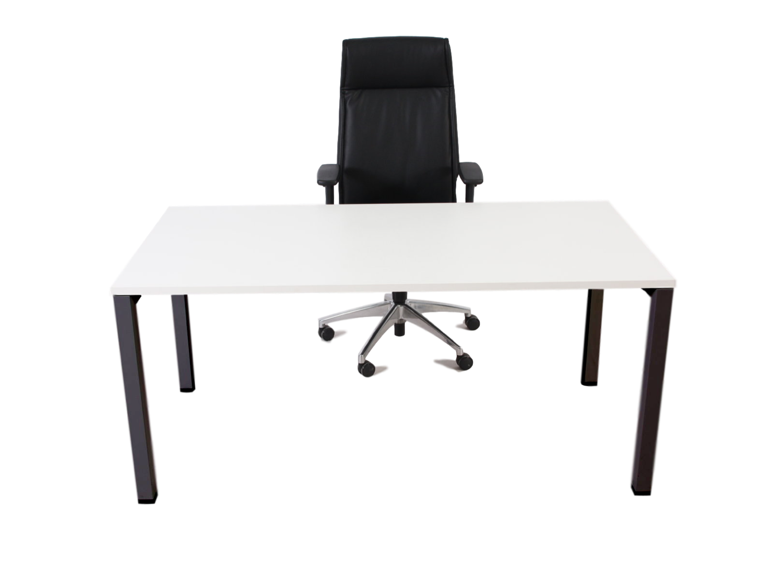 Bureau blanc design adopte un bureau