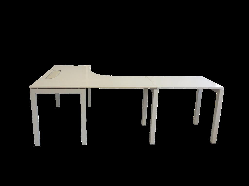 bureau avec retour occasion. Black Bedroom Furniture Sets. Home Design Ideas
