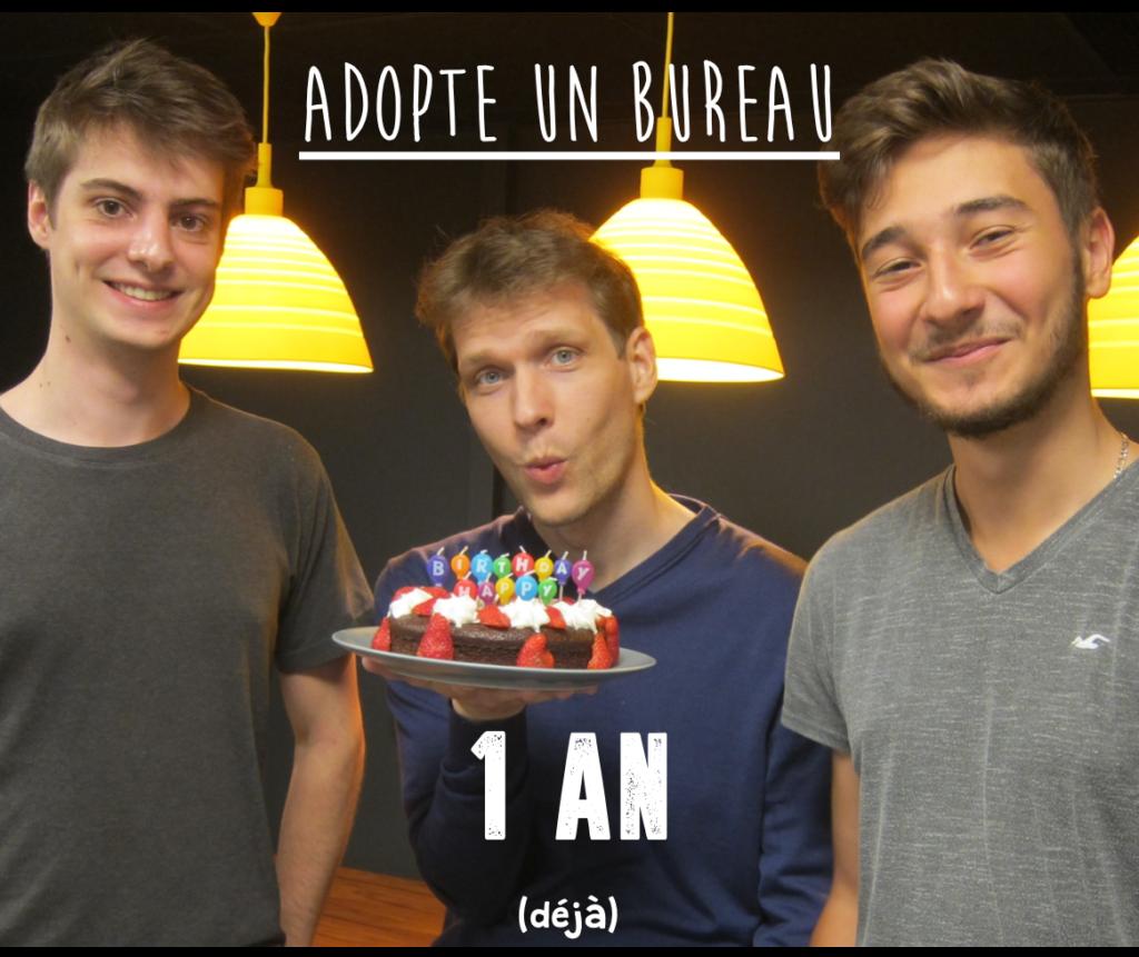anniversaire adopte un bureau startup