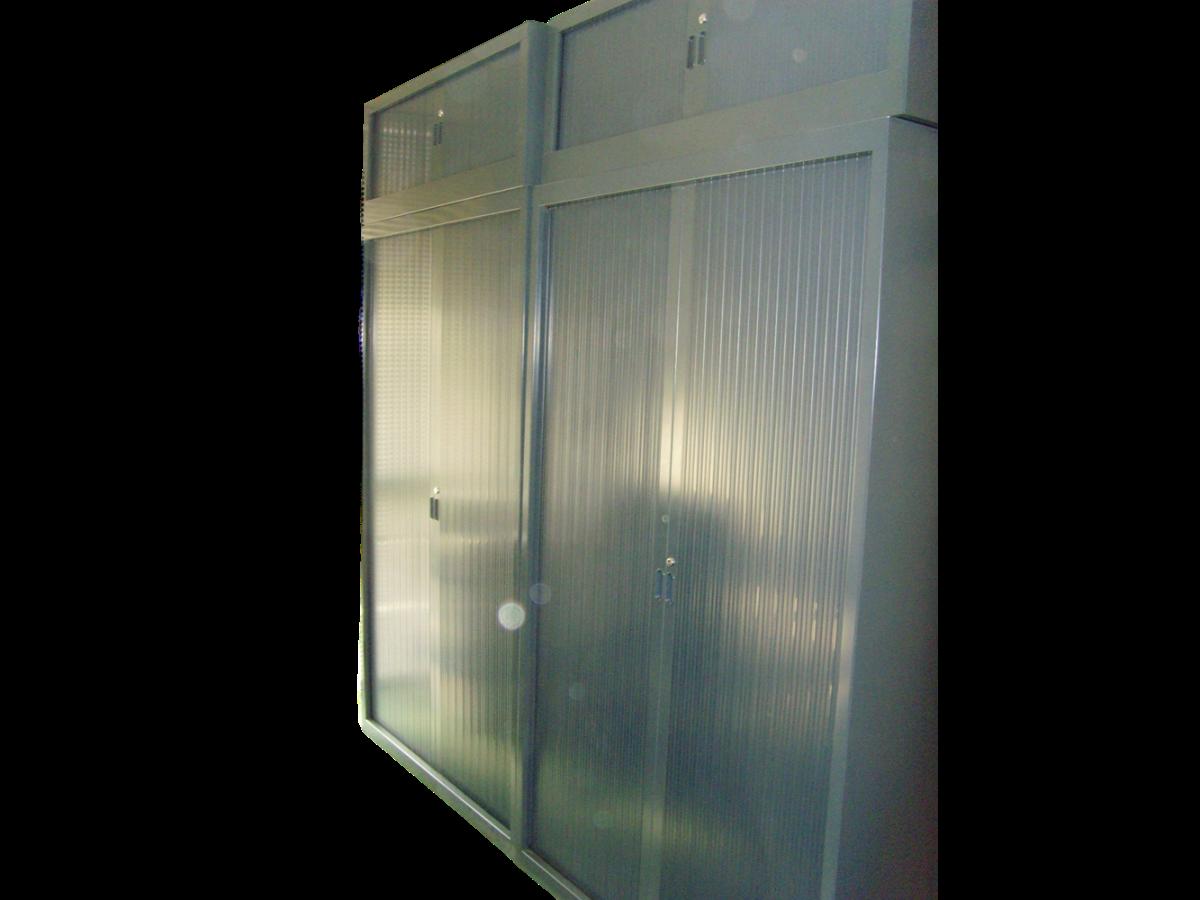 armoire m tallique grise anthracite avec top adopte un. Black Bedroom Furniture Sets. Home Design Ideas