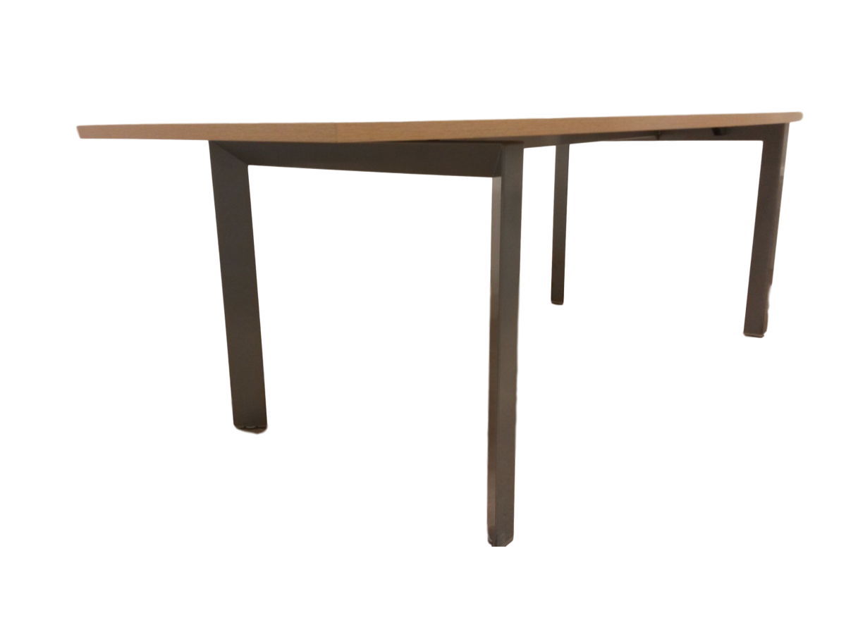 Table en bois clair maison design for Table bois clair