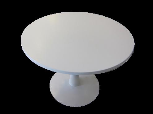 Table tulipe blanche