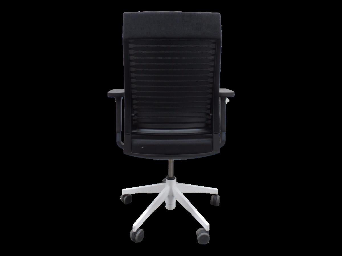 fauteuil de bureau ergonomique dynamobel noir adopte un bureau. Black Bedroom Furniture Sets. Home Design Ideas