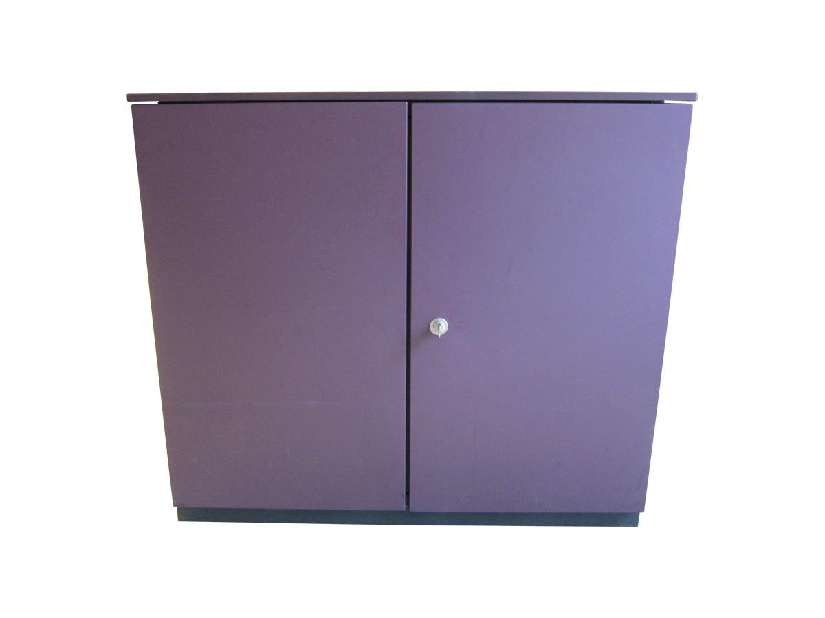 armoire basse bene 2 portes adopte un bureau. Black Bedroom Furniture Sets. Home Design Ideas