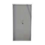 Armoire a rideaux blanche 100x198 - modele d'exposition