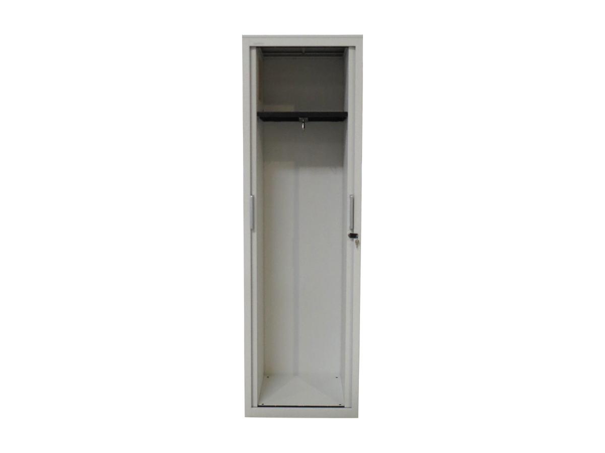 Armoire vestiaire blanche 60x198 mod le d 39 exposition for Armoire blanche bureau
