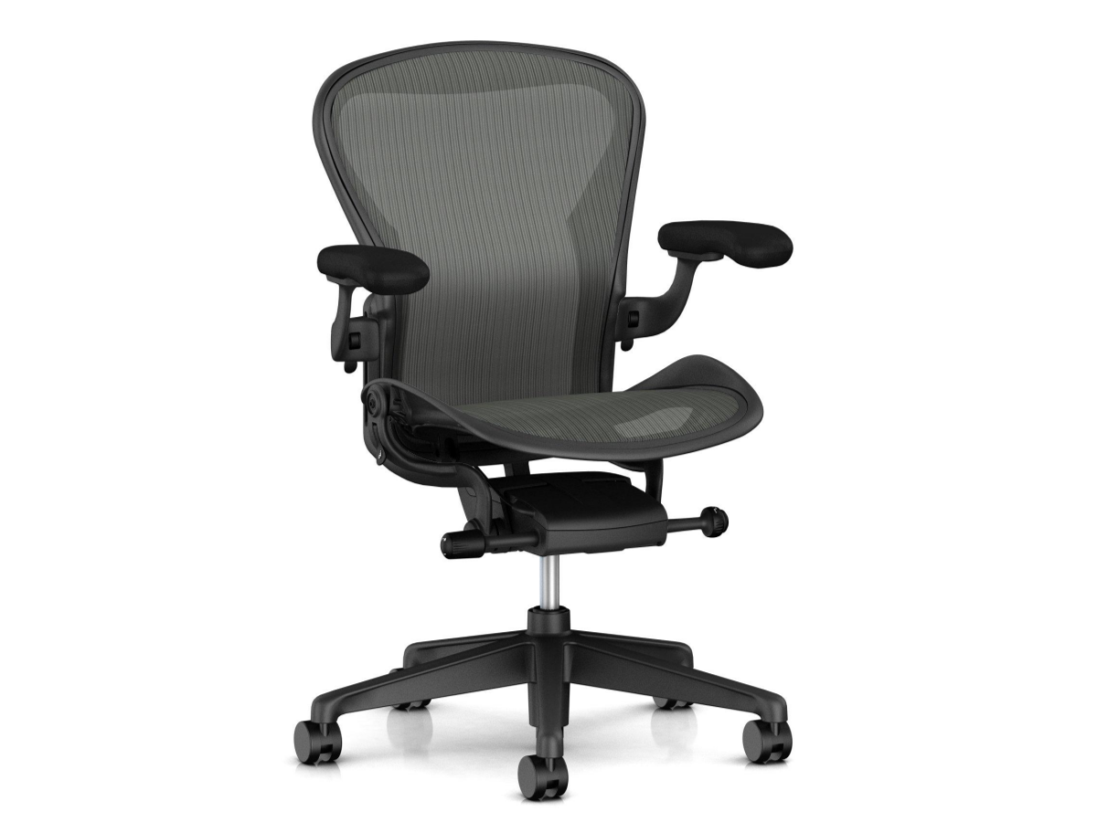 fauteuil de bureau aeron graphite garanti 1 an occasion adopte un bureau. Black Bedroom Furniture Sets. Home Design Ideas