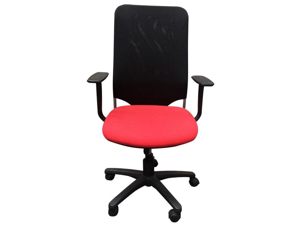 Déco bureau rouge et noir
