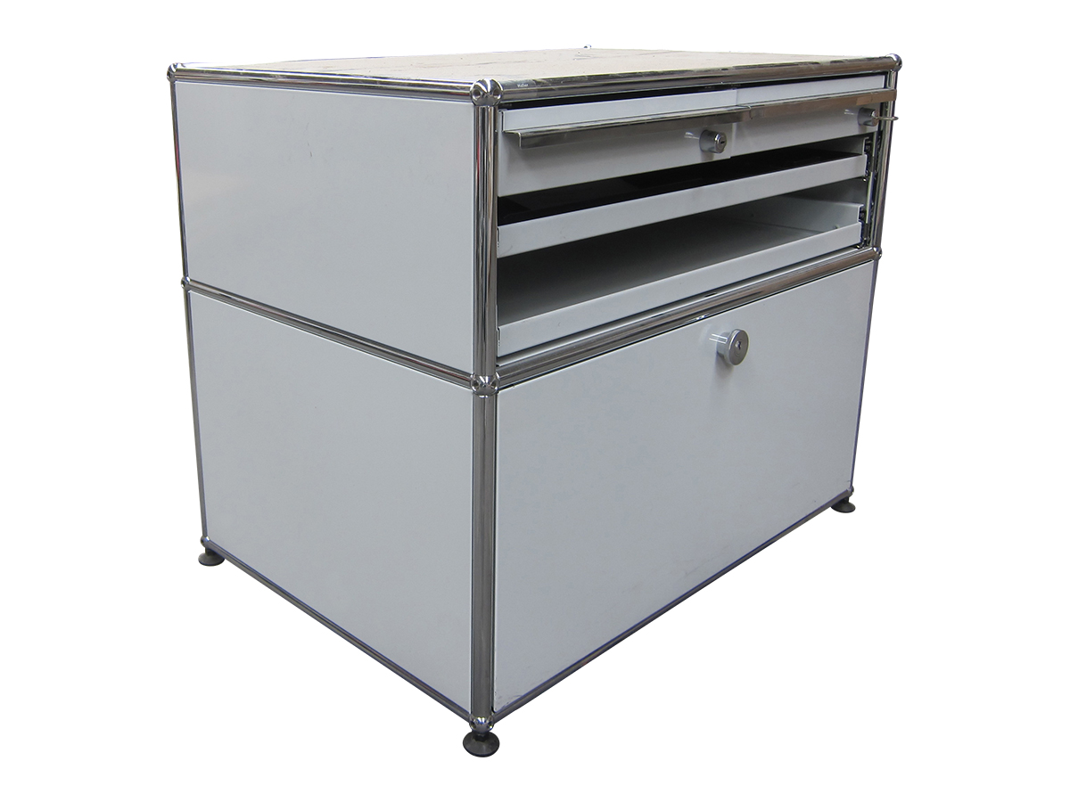 Meuble bas usm blanc occasion adopte un bureau for Meuble usm occasion