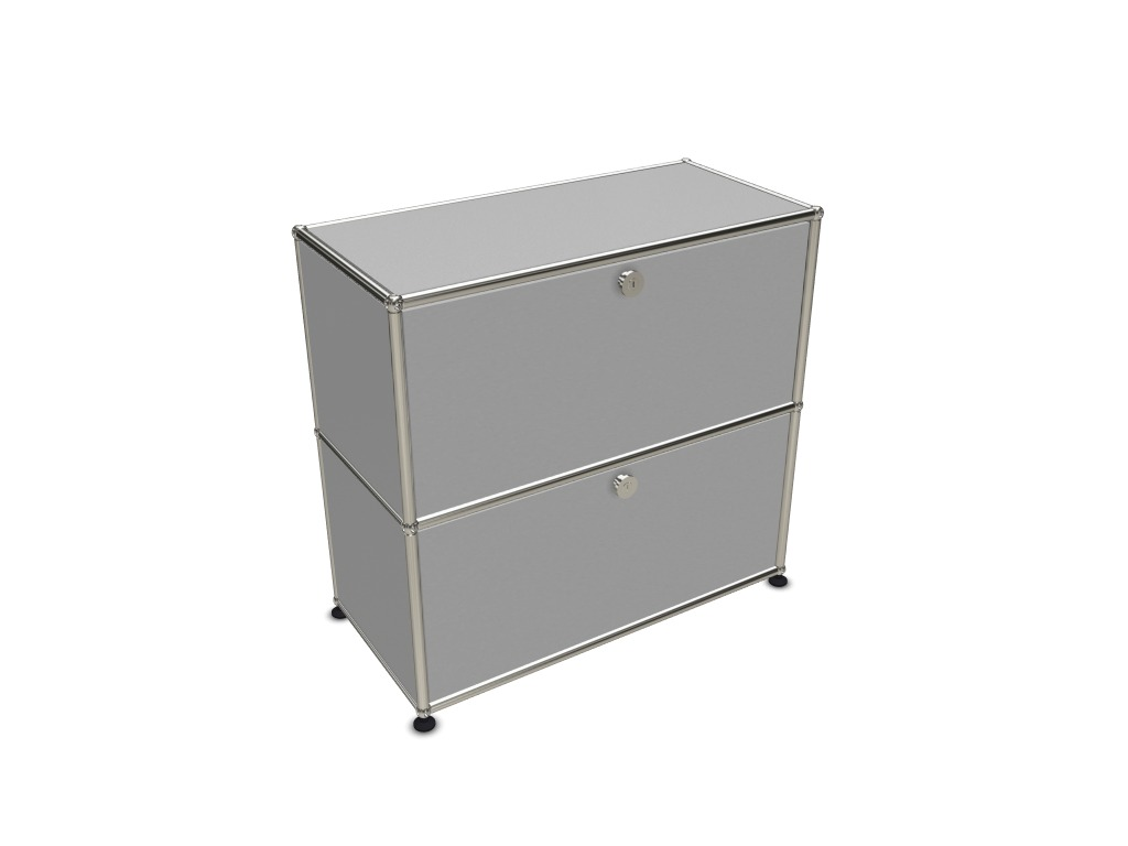 meuble bas usm 2 cases sur roulettes adopte un bureau. Black Bedroom Furniture Sets. Home Design Ideas