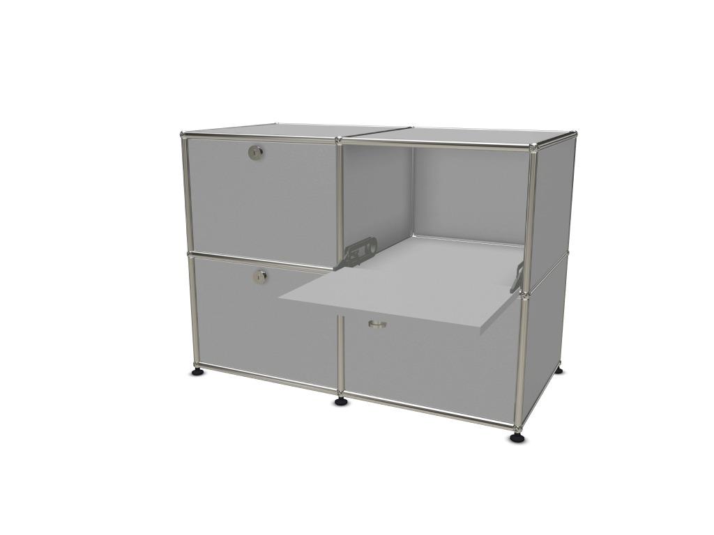 rangement usm 4 cases sur roulettes adopte un bureau. Black Bedroom Furniture Sets. Home Design Ideas