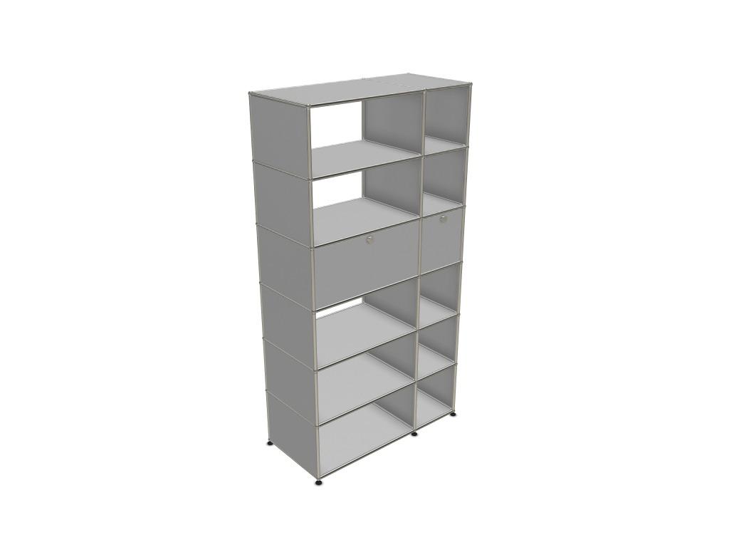 meuble usm 12 cases adopte un bureau. Black Bedroom Furniture Sets. Home Design Ideas