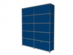 meuble USM 10 cases bleu