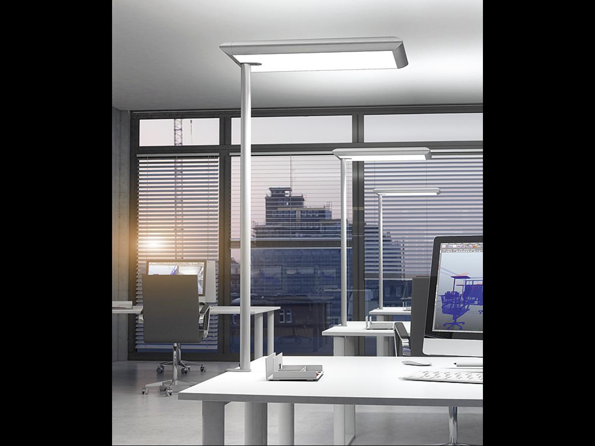 lampadaire neuf adopte un bureau. Black Bedroom Furniture Sets. Home Design Ideas