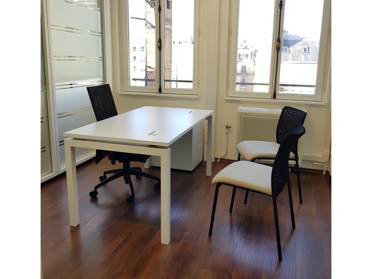 bureau droit blanc 160x80 occasion adopte un bureau. Black Bedroom Furniture Sets. Home Design Ideas