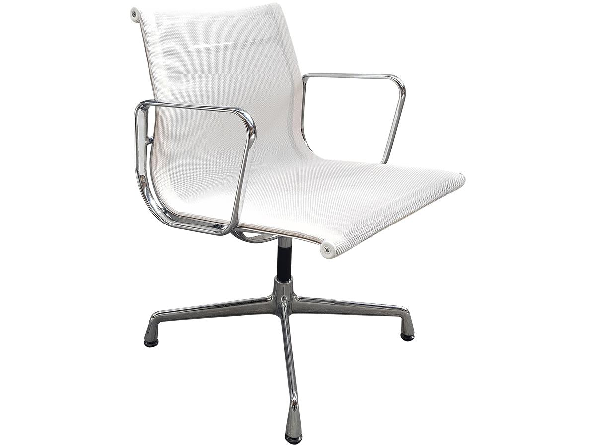 design intemporel 95c44 14d06 Chaise conférence Vitra résille blanche - occasion - Adopte ...