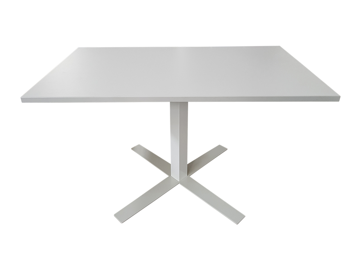 Table blanche 120x70 adopte un bureau for Table de bureau blanche