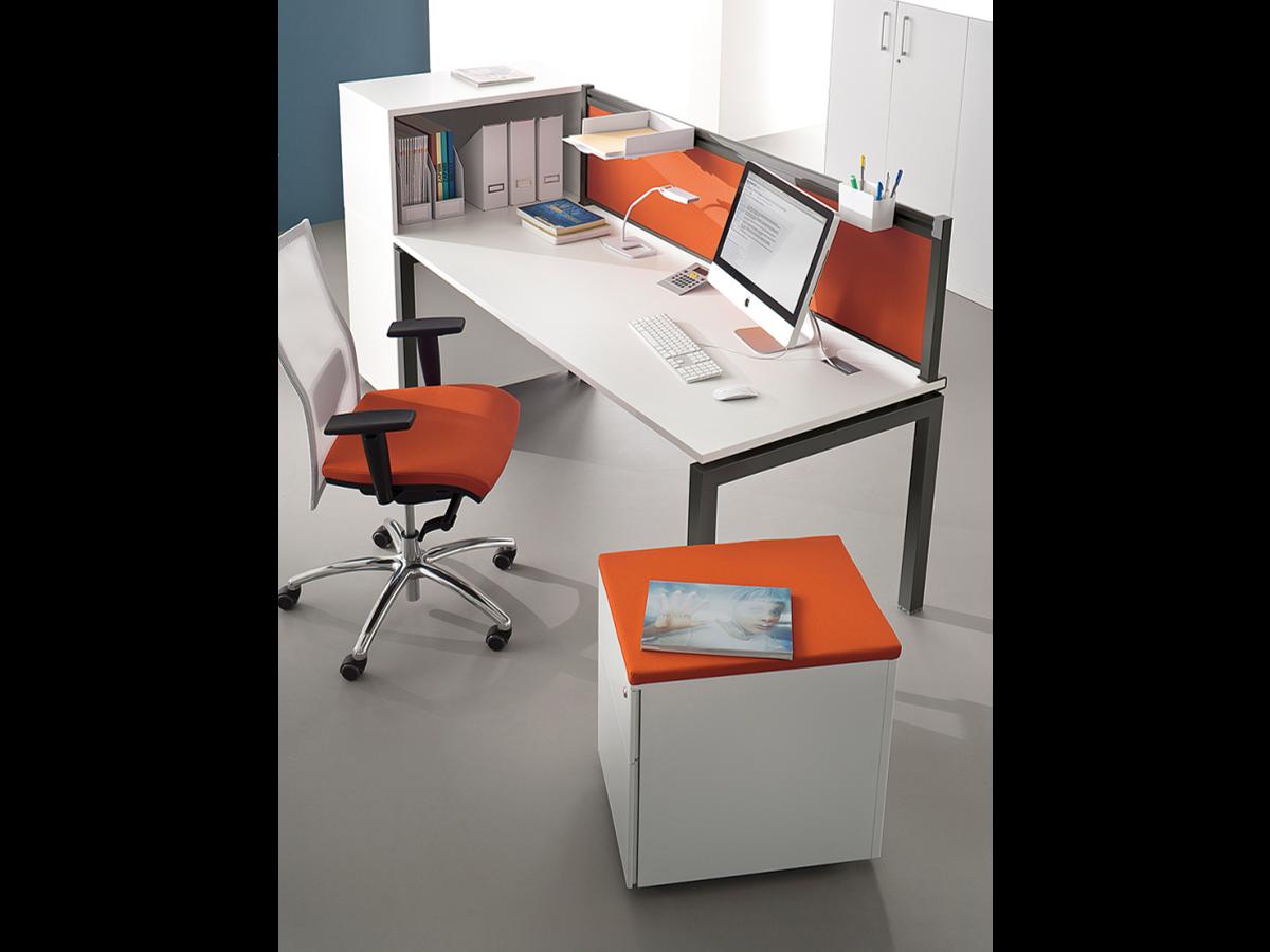 bureau droit blanc 120 140 160 x 80 neuf adopte un bureau. Black Bedroom Furniture Sets. Home Design Ideas