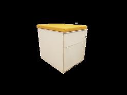 caisson jaune 2 tiroirs