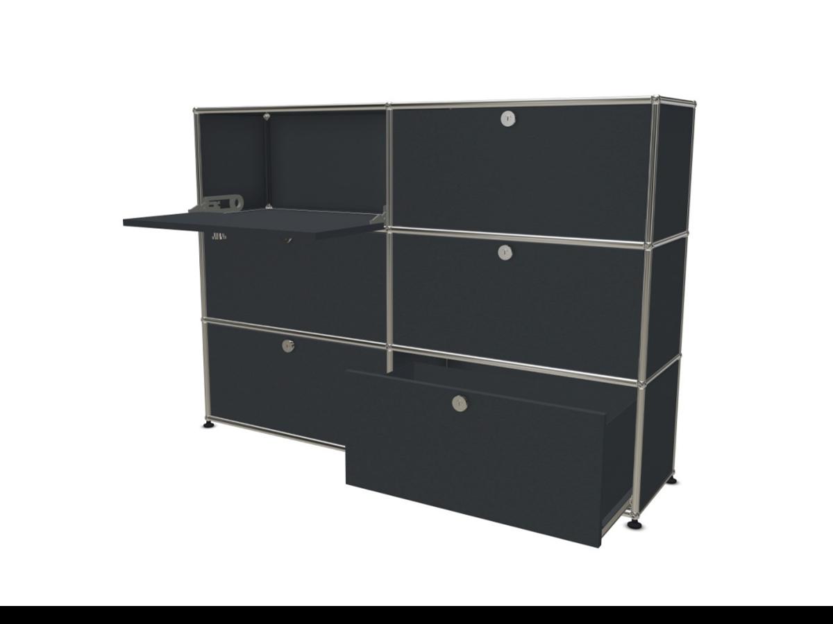 usm 6 cases adopte un bureau. Black Bedroom Furniture Sets. Home Design Ideas