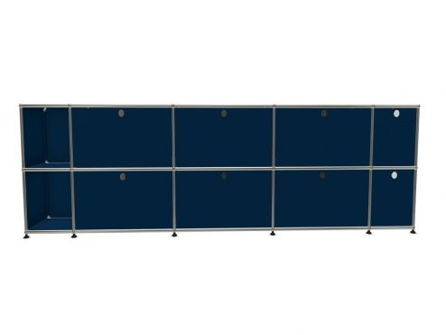 10 Cases bleues