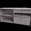 USM caisson modulable gris clair meuble