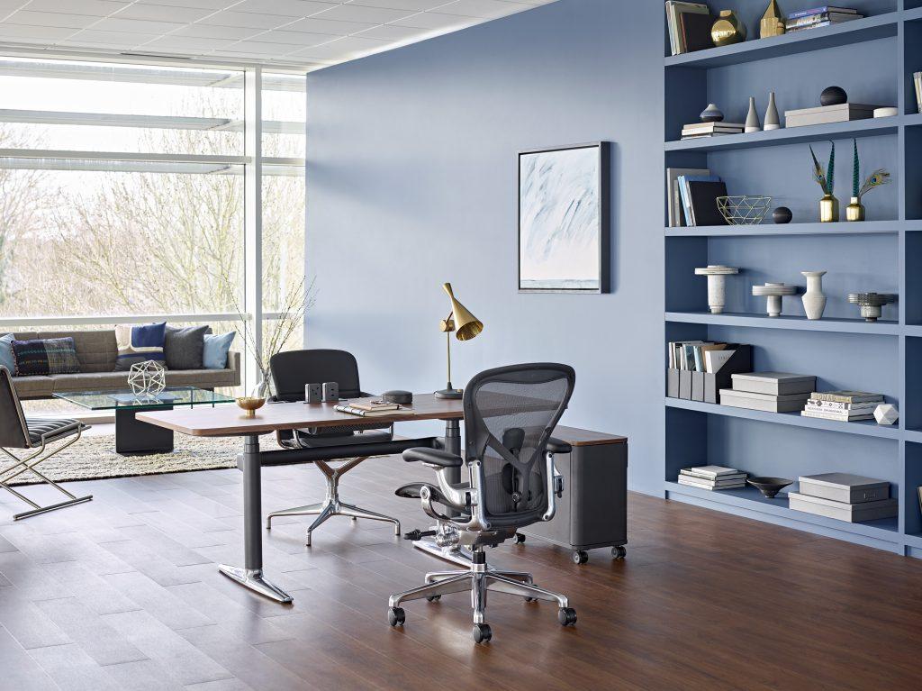 Aeron remastered chair desk siege ergonomique