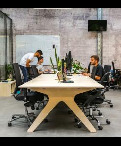 bureau open space Louis team desk