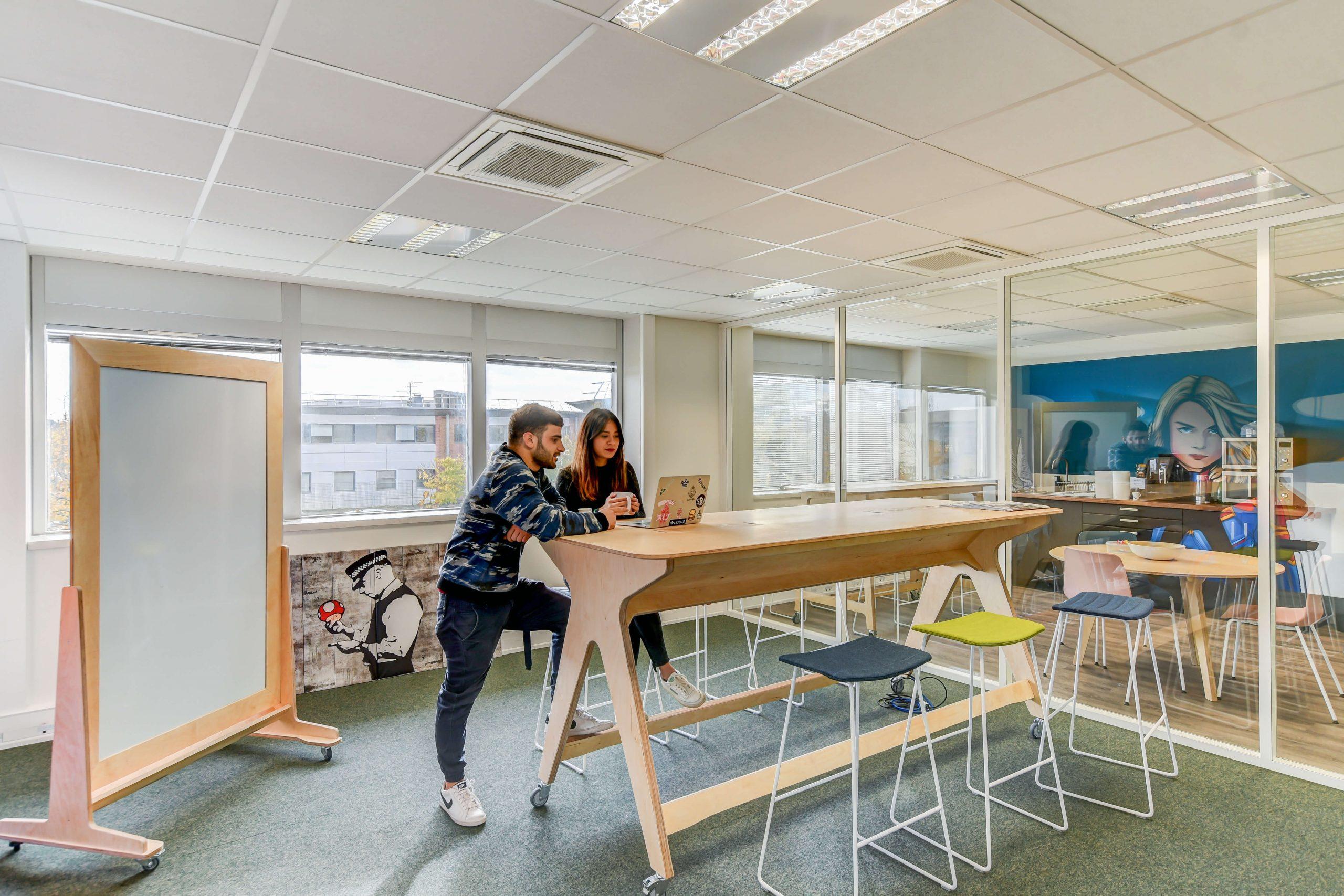 salle détente startup
