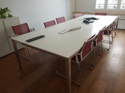 table de réunion 10 places