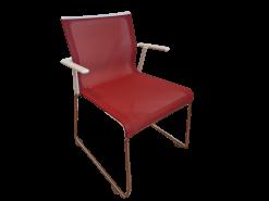 chaise de réunion rouge