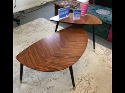 table basse bois marron
